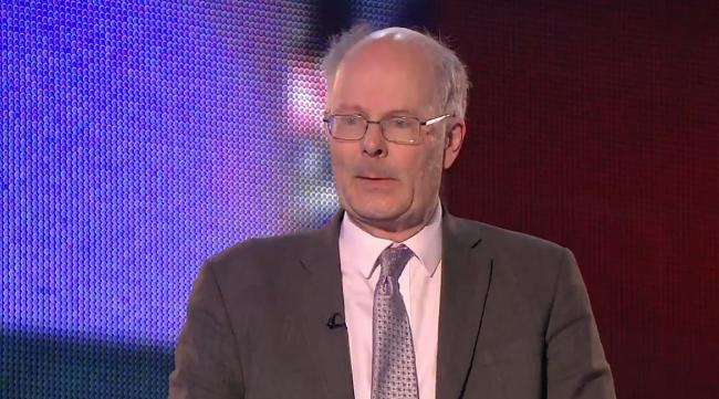 Political scientist John Curtice was talking about the poll earlier today