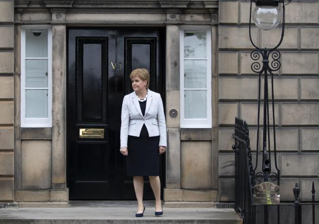 Nicola Sturgeon met the new Scottish Secretary as the PM visited Bute House