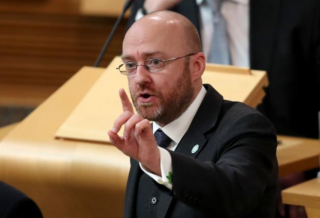 Green co-leader Patrick Harvie said a Green New Deal was required