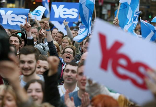 A new Lord Ashcroft poll suggests more than half of Scots support independence