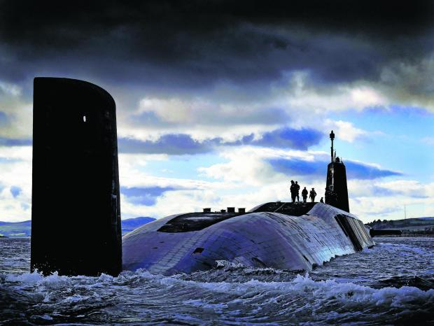Should Trident be allowed to stay in Scotland even a day after independence?