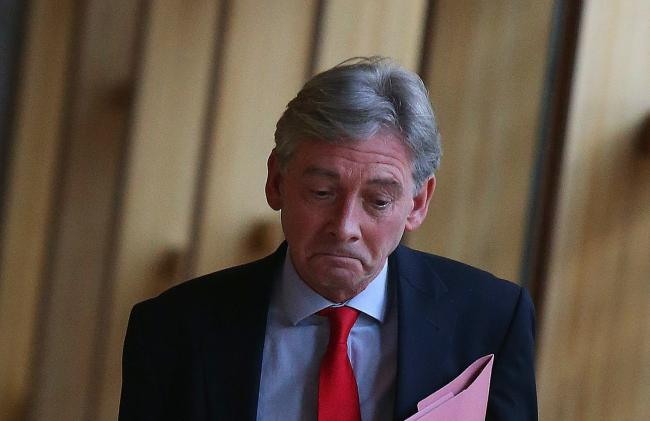 Why does Richard Leonard think he has a right to prevent other people from voting?