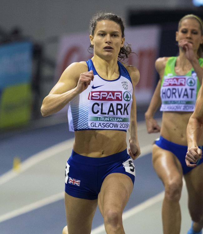 Zoey Clark is competing in the 4x400m mixed relay in the European Team Championships