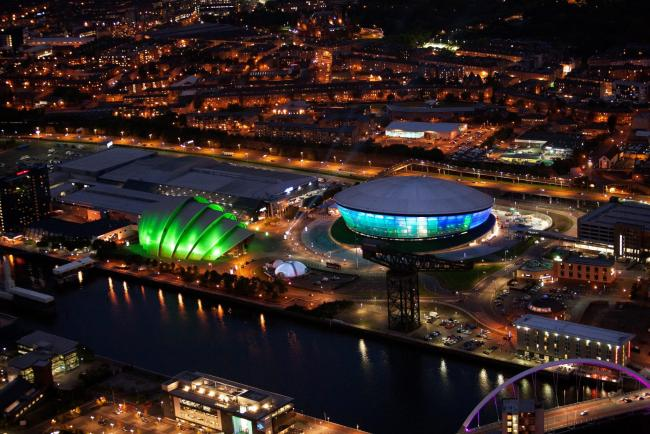 The SEC and Hydro are an iconic sight in Glasgow and may be home to the COP26 summit next year