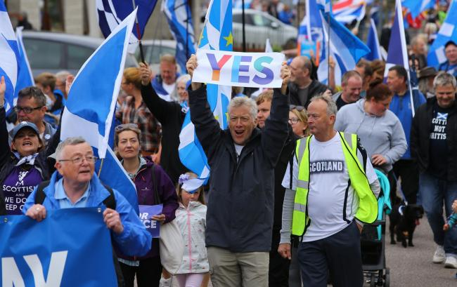 Murray Foote, the man behind The Vow, has come out in favour of independence since 2014
