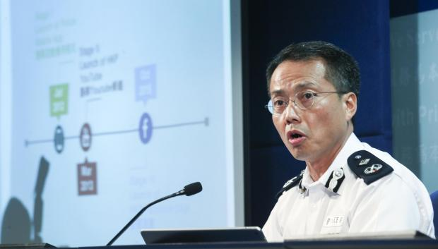 The National: Hong Kong's former deputy police commissioner Alan Lau Yipshing has been called out of retirement to deal with Hong Kong's latest protests