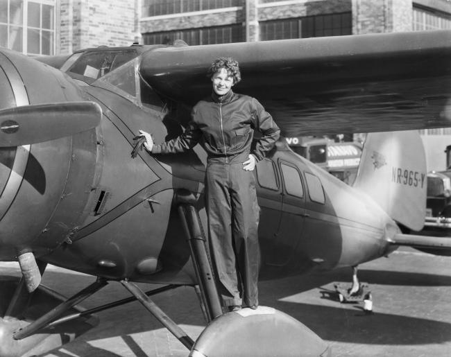 Amelia Earhart disappeared over the Pacific Ocean on July 2, 1937, during an attempt to fly around the world