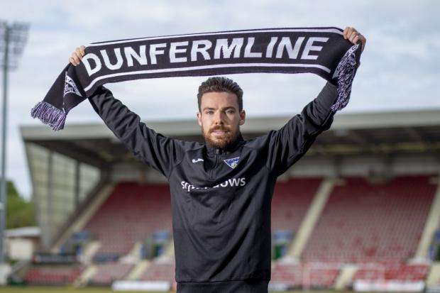 The National: Ryan Dow has shown early season promise for Dunfermline