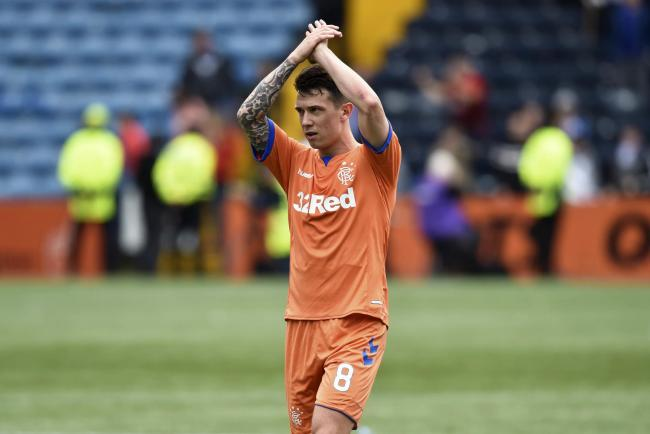Rangers manager says midfielder Ryan Jack made a lasting impression in his very first training session