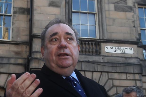 Former First Minister Alex Salmond was successful in a judicial review