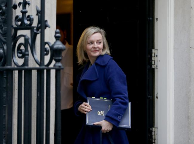 Liz Truss made the incorrect claim in a newspaper article