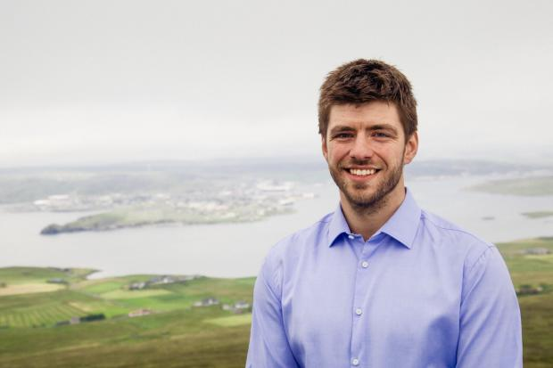 The National: SNP candidate for the Shetland by-election, Tom Wills