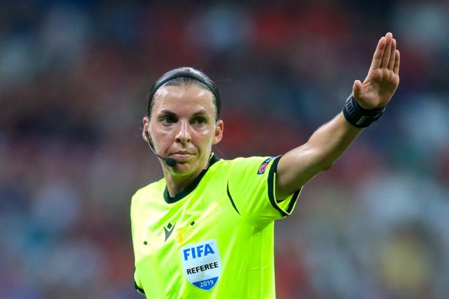 Stephanie Frappart took charge of the European Super Cup