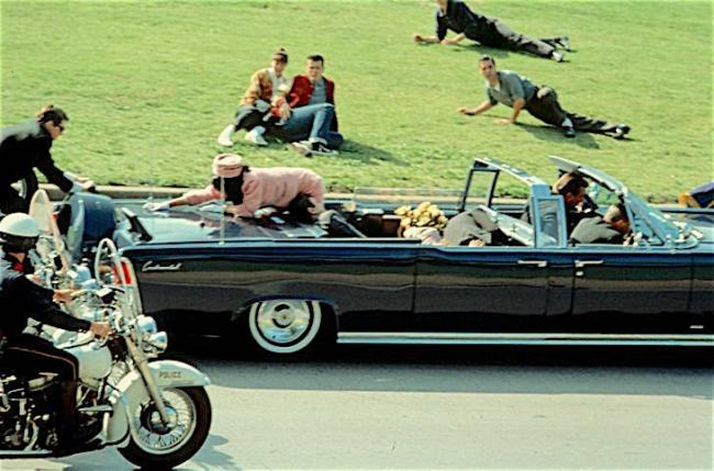 The assassination of JFK ... the subject of one of the most potent conspiracy theories