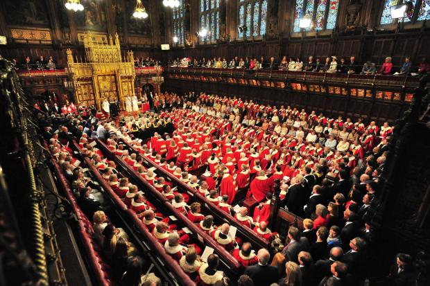 A sort-of model: The House of Lords