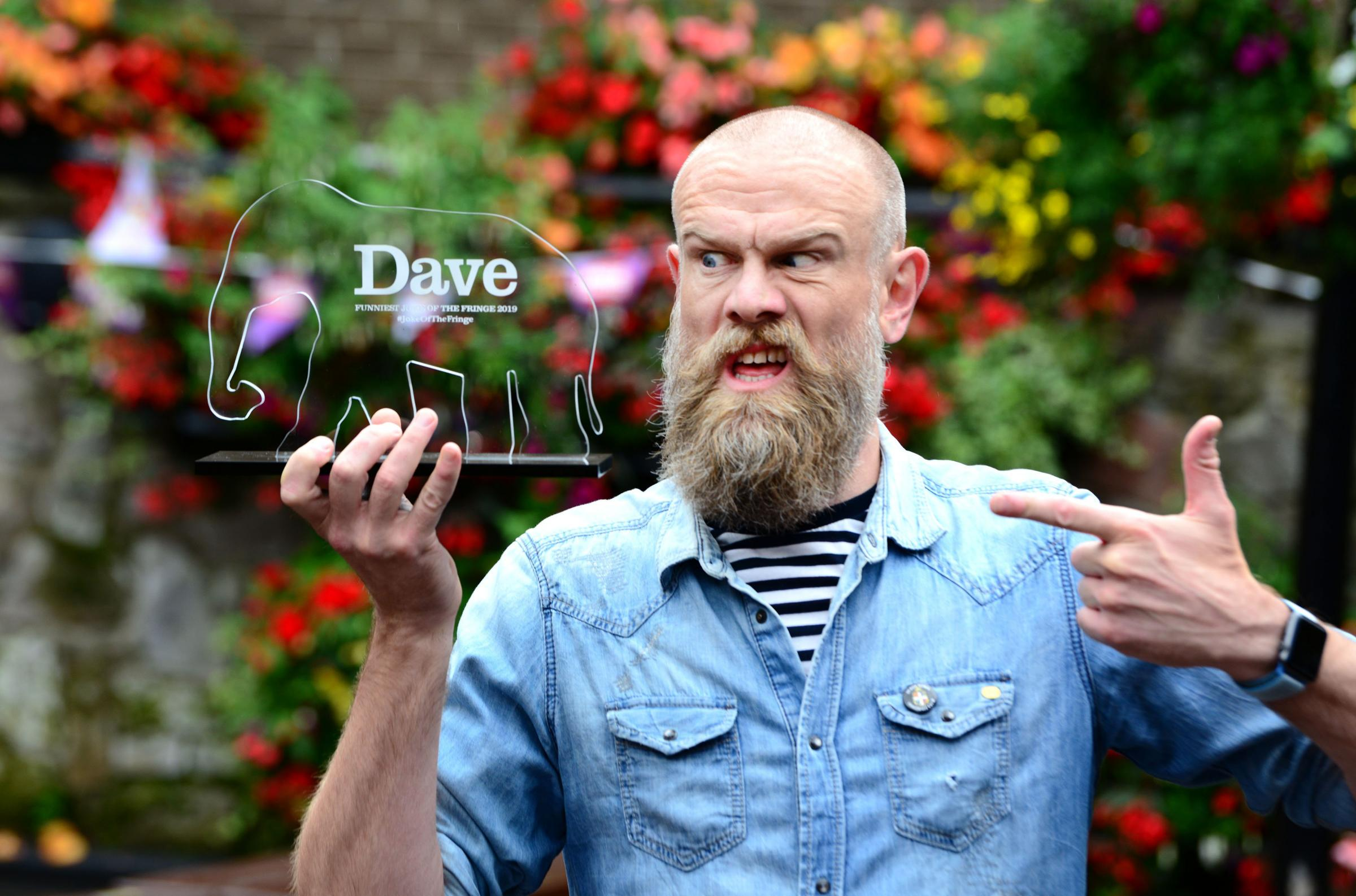Olaf Falafel's Vegetable joke named Edinburgh Fringe's best gag