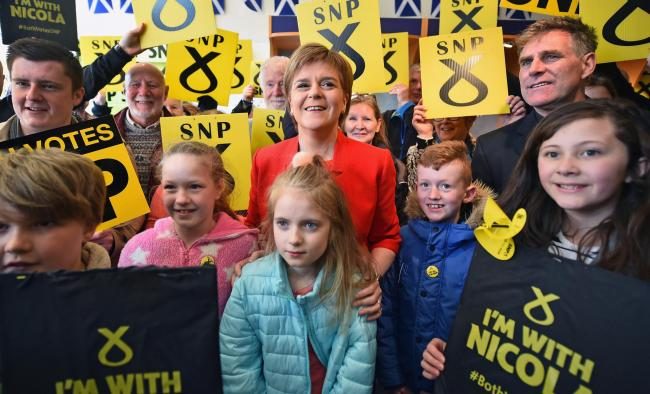 Polls suggest the SNP will make gains at the expense of the Tories and Labour