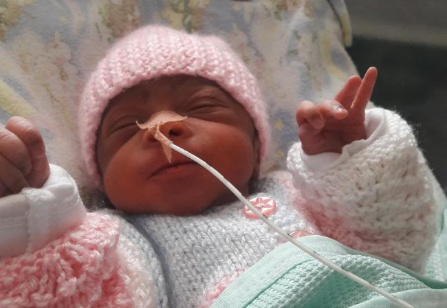 Asylum seeker Malcolm's daughter was born prematurely in Edinburgh