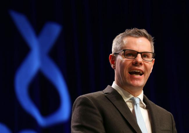Finance Secretary Derek Mackay said the bank is still on track to open this time next year