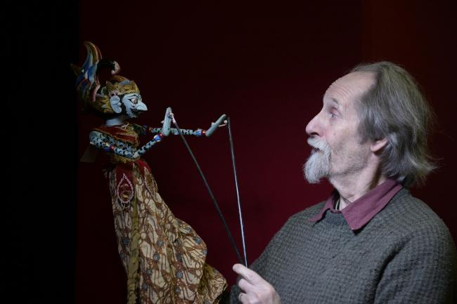 Malcolm Knight, founder of the Scottish Mask and Puppet Centre in Glasgow. Picture: Kirsty Anderson/Herald & Times
