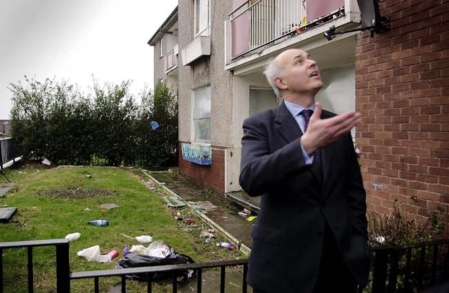 Iain Duncan Smith was reduced to tears during a visit to Easterhouse in 2002 ... he would do well  to remember that visit