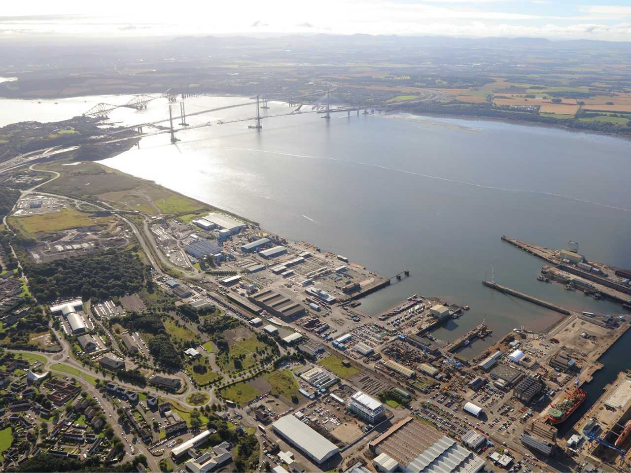 Rosyth sees promising plans linking Scotland with The Netherlands