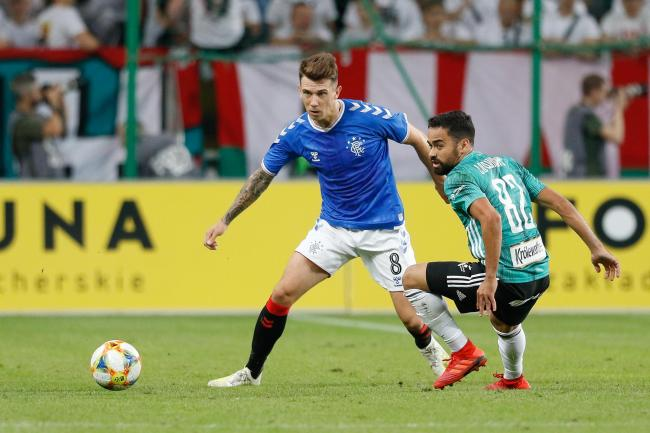 Ryan Jack was a standout performer for Rangers as they drew with Legia Warsaw.