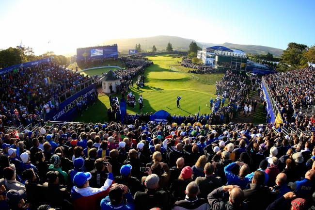 The sun shone on Gleneagles during the 2014 Ryder Cup