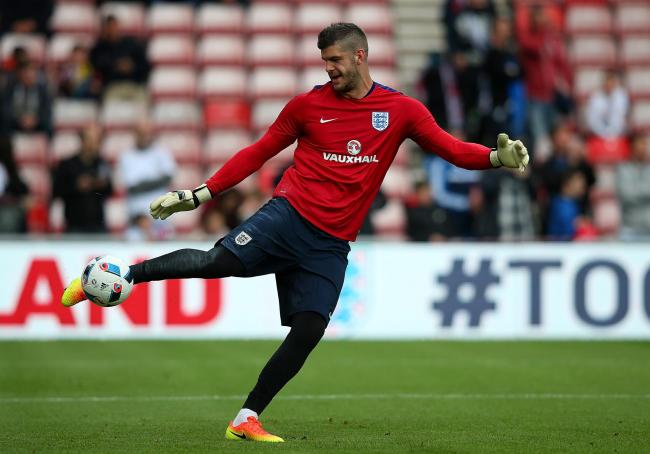 Fraser Forster is hoping to play his way into Gareth Southgate's thoughts.