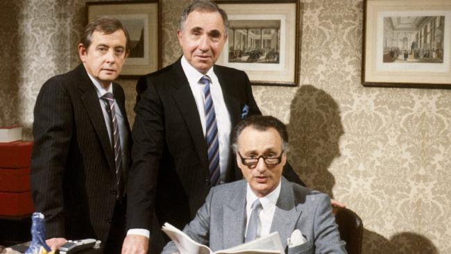 Yes Minister was a BBC sitcom by Antony Jay and Jonathan Lynn programme with Paul Eddington and Nigel Hawthorne