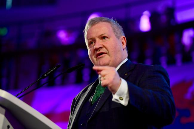 Ian Blackford is not happy with the new arrangement