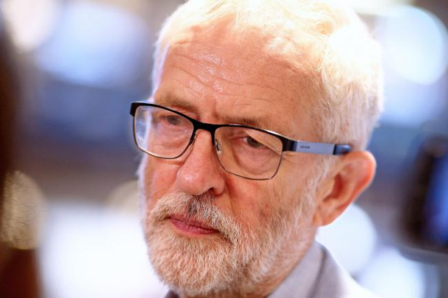Labour leader Jeremy Corbyn is not happy with the PM's plan