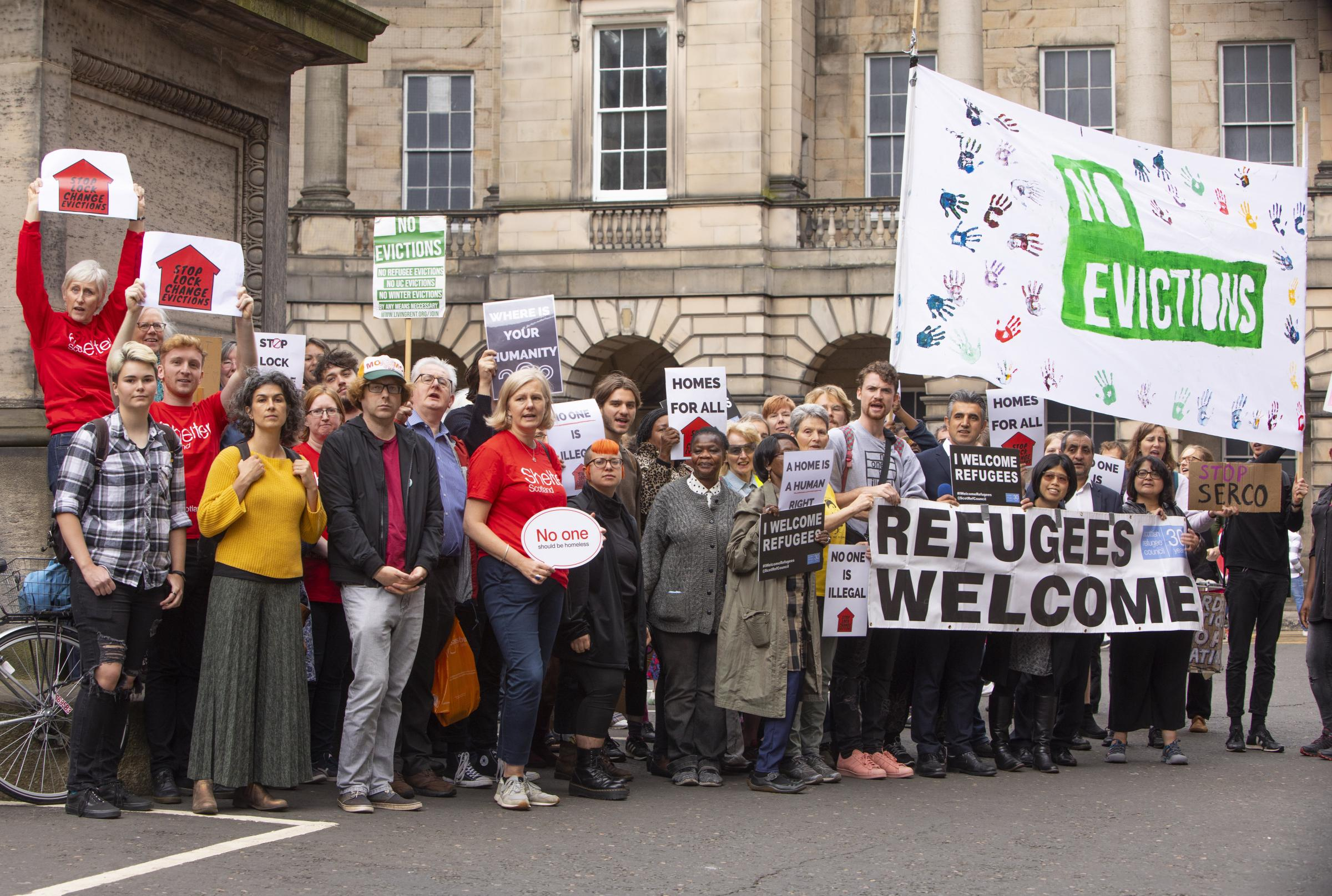 No more lock-change evictions for asylum seekers in Glasgow
