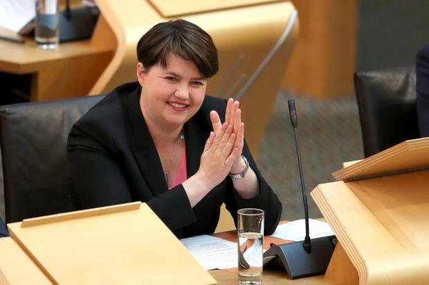 The National: The Scottish Tories had Ruth Davidson's charm but she took it all with her when she resigned