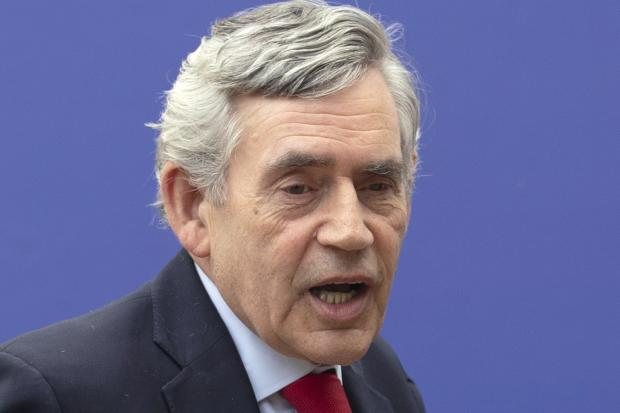 The National: Former prime minister Gordon Brown