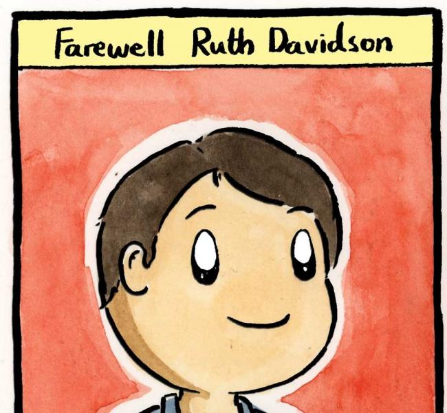Goodbye Ruth Davidson. Your achievements were ...