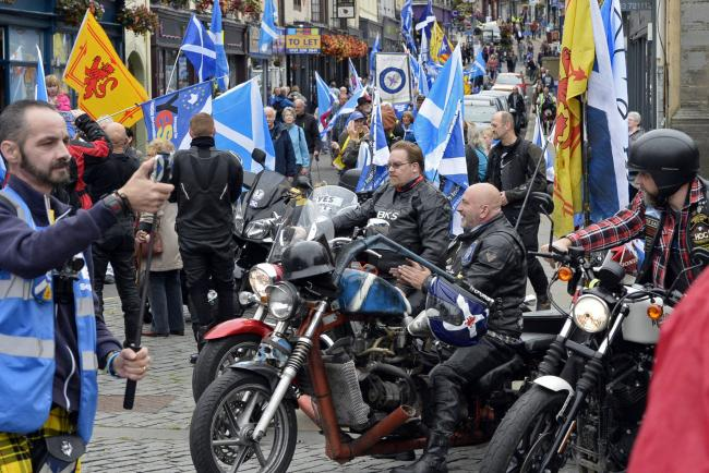 The Yes Bikers will be among those in attendance at today's Forward as One event
