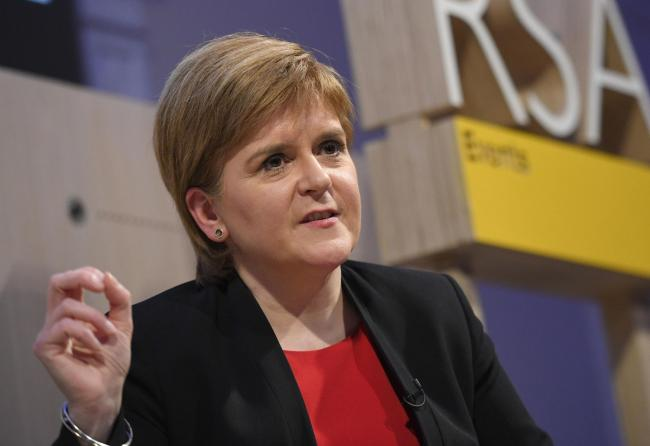 Nicola Sturgeon: As independence support surges we will have