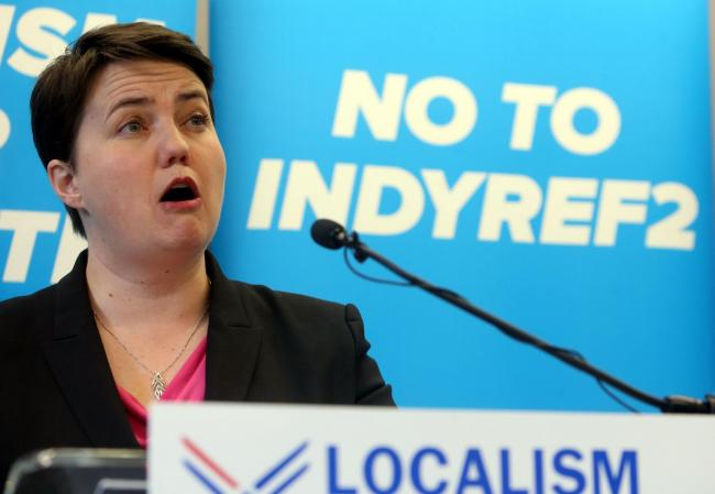 She has been the blue-eyed girl of the pro-Union Scottish media