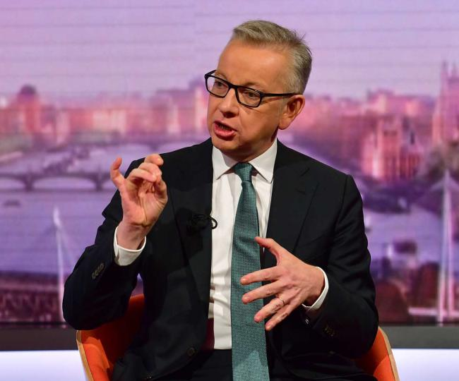 Gove refuses to rule out Tories ignoring MPs' No-Deal Brexit