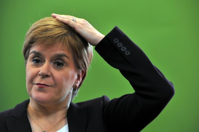 Nicola Sturgeon has been offering sensible solutions to prevent a meltdown of the UK economy