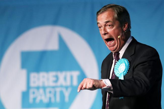 Nigel Farage's party sent out a completely bizarre press release