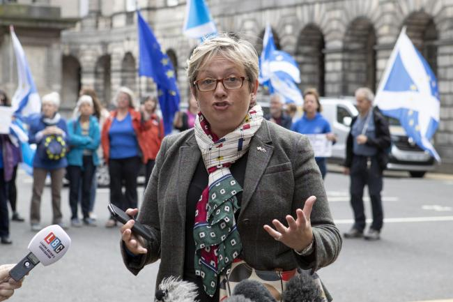 SNP MP Joanna Cherry QC said the balance of legal opinion is that Scotland may well win any court battle