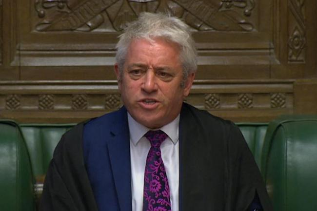 John Bercow To Quit As Speaker By Brexit Deadline Of October 31 The National