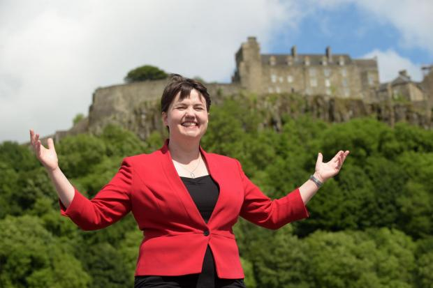 The National: Ruth Davidson was very skilled at weaponising the Unionist voice