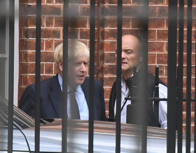 Prime Minister Boris Johnson and top aide Dominic Cummings are undermining Westminster ... but they should never have been able to