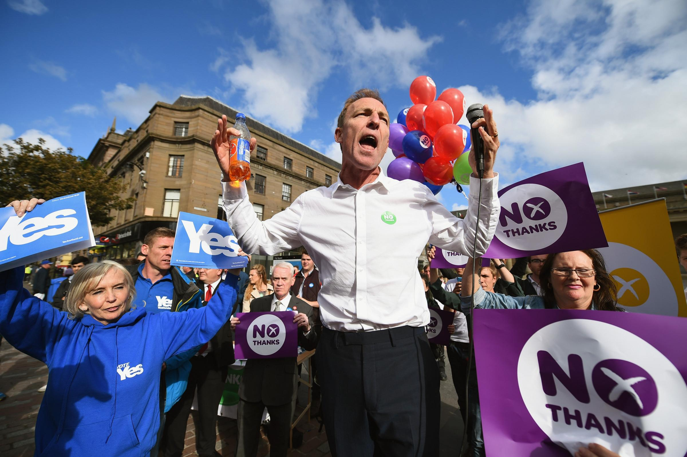 Extract: The funniest moments of the indyref campaign