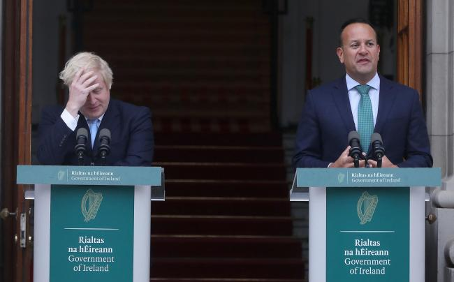 Prime Minister Boris Johnson met Taoiseach Leo Varadkar in Dublin