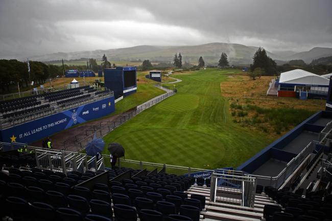 Gleneagles is set to host the Solheim Cup this week