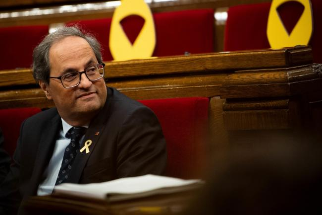 Quim Torra says the announcement of the indy trial verdicts will mark a key moment in Spain's history as well as that of Catalonia